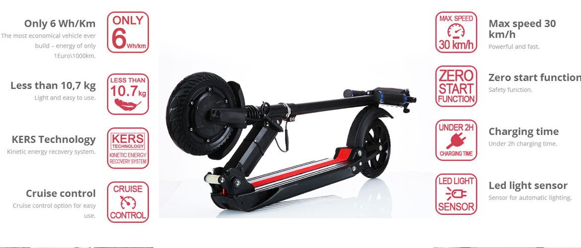 Classic Electric Scooter Adult Electric Scooter