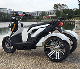 Harley Scooter 3-wheel Transformer
