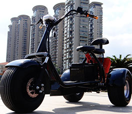 Electric Harley Scooter 3 wheel