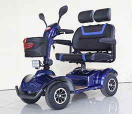 Double Seat Mobility Scooter-091