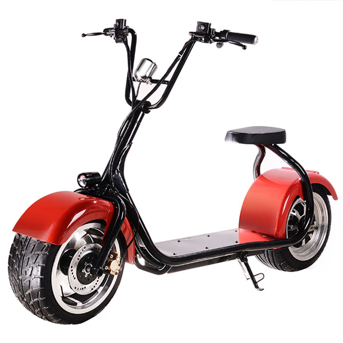 Big wheel electric scooter fat wheel citycoco from china for Big wheel motor scooter