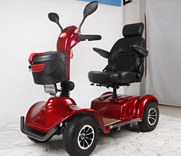 Single Seat Mobility Scooter-091